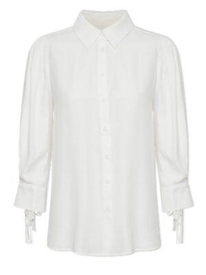 Χαλαρό γυναικείο πουκάμισο Emily Cream